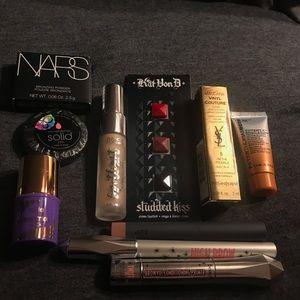 Other - NEW- 10 piece designer makeup deluxe sample lot